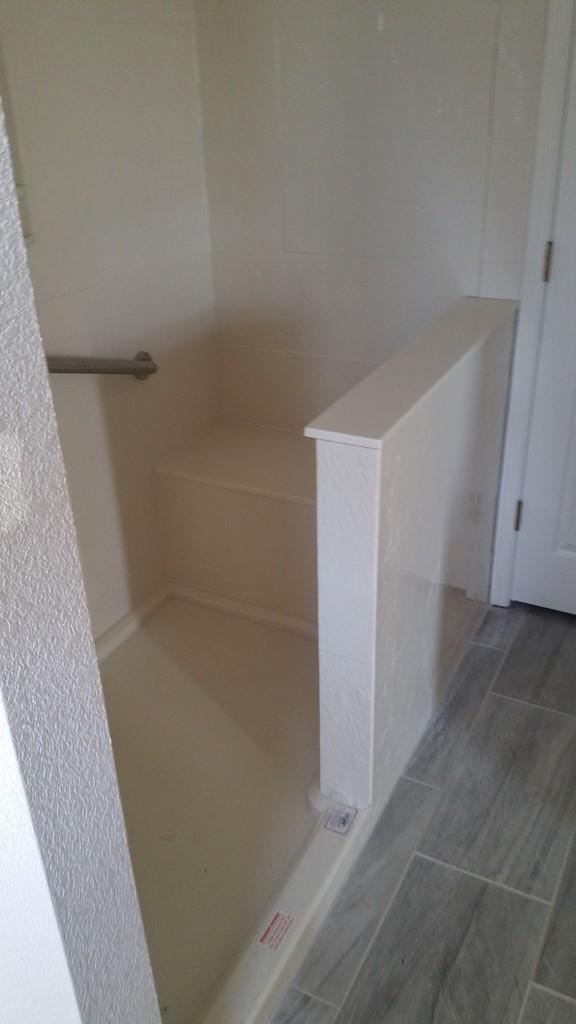 Bathroom Remodel Walk In Shower Onyx Installer Fayetteville
