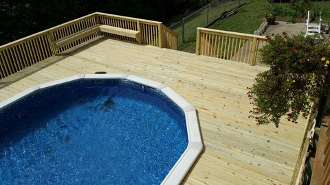 Deck Builder In Rogers, Arkansas
