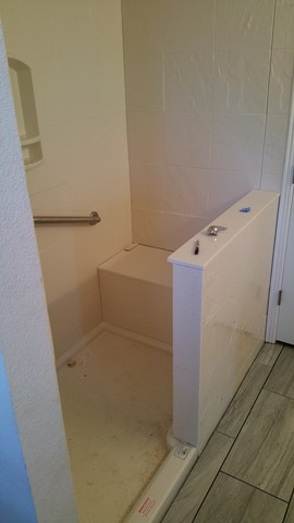 Bathroom remodel in lowell Arkansas