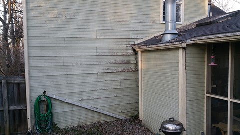 Siding repair in Springdale Arkansas