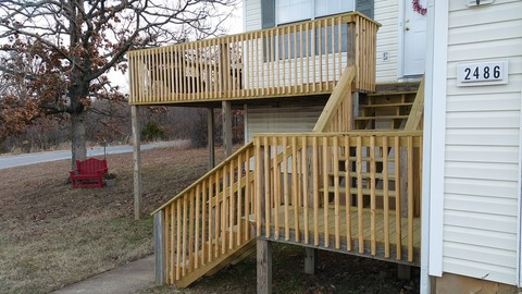 Deck Replacement Fayetteville, Arkansas