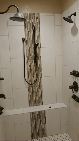Master Bathroom shower remodel Fayetteville arkansas
