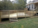 Fayetteville Deck Staining