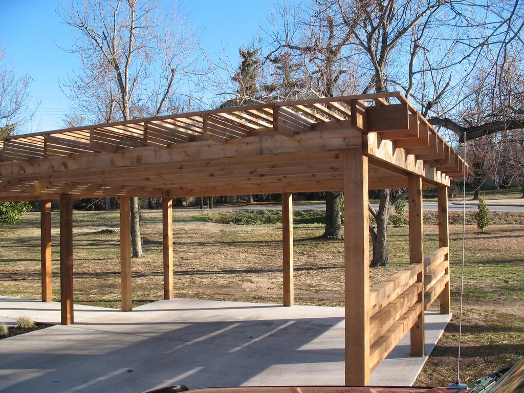 Carport pergola; Deck pergola ... - Pergolas-Gazebos Create Great Outdoor Living Spaces Crossland
