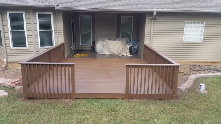 Solid Toner Deck Staining